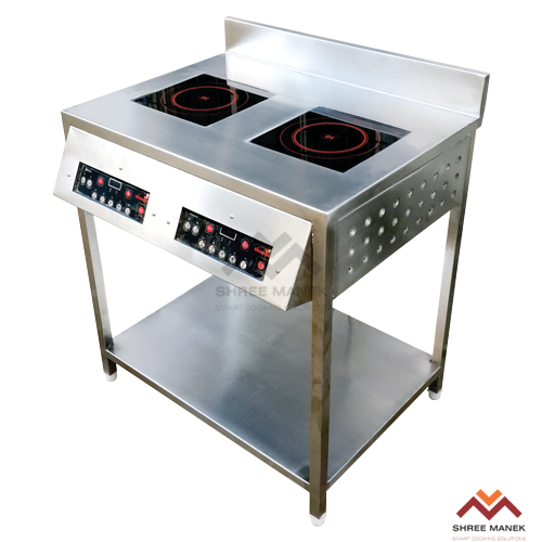 Shree Manek Double Cook Hob