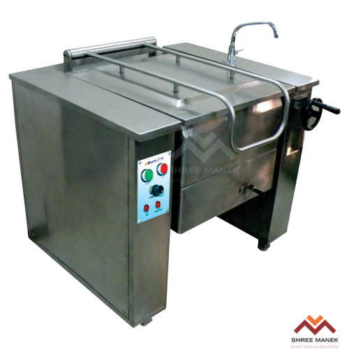 Shree Manek Tilting Braising Pan