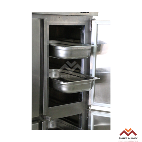 Shree Manek 4 Door Vertical GN Pan Refrigerator