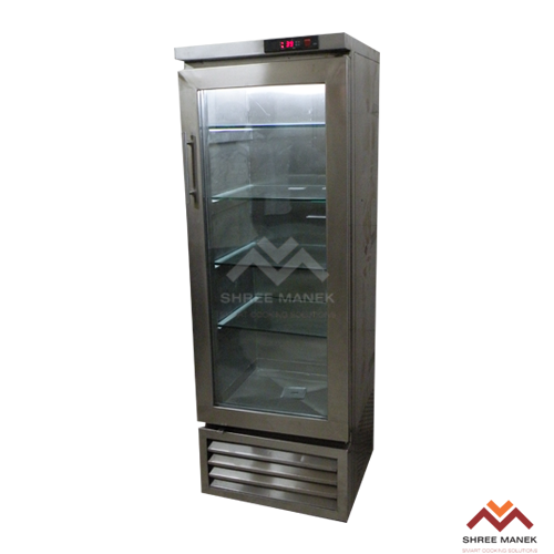 Shree Manek Glass Door Vertical Refrigerator