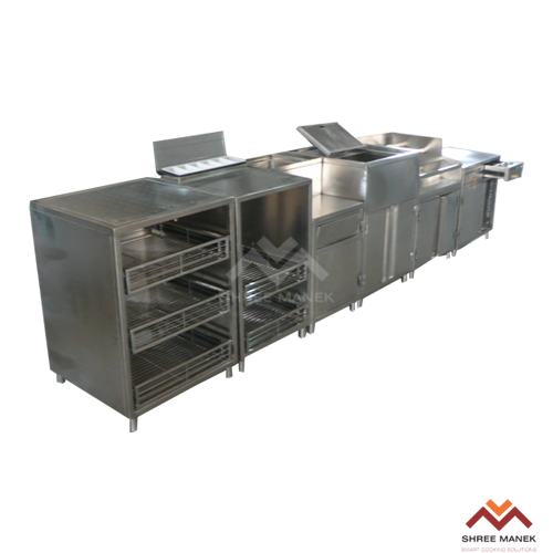 Food service equipments manufacturers suppliers shree for Food bar manufacturers